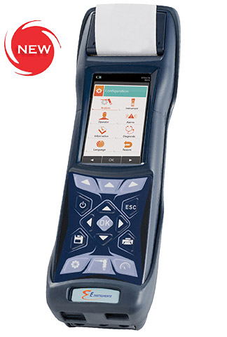Product Image of Emissions Analyzer: E4500 Portable Industrial Gas Analyzer