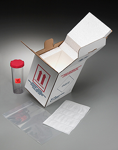 Product Image of Packaging: Diagnostic Specimen Cooler Kit - Bioship 602SS DCK Temperature Control