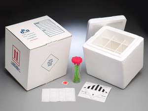 Product Image of Packaging: Diagnostic Specimen Dry Ice Cooler Kit - Bioship 602SS DTCK Temperature Control