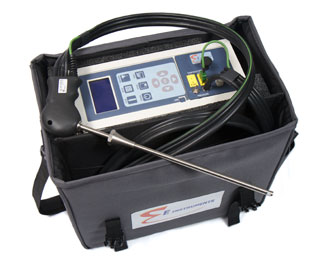 Product Image of Emissions Analyzer: E8500 Plus Portable Industrial Flue Gas and Emissions Analyzer