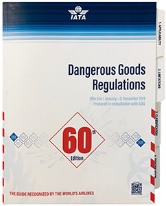Product Image of 2019 IATA Dangerous Goods Regulations Manual, 60th Edition